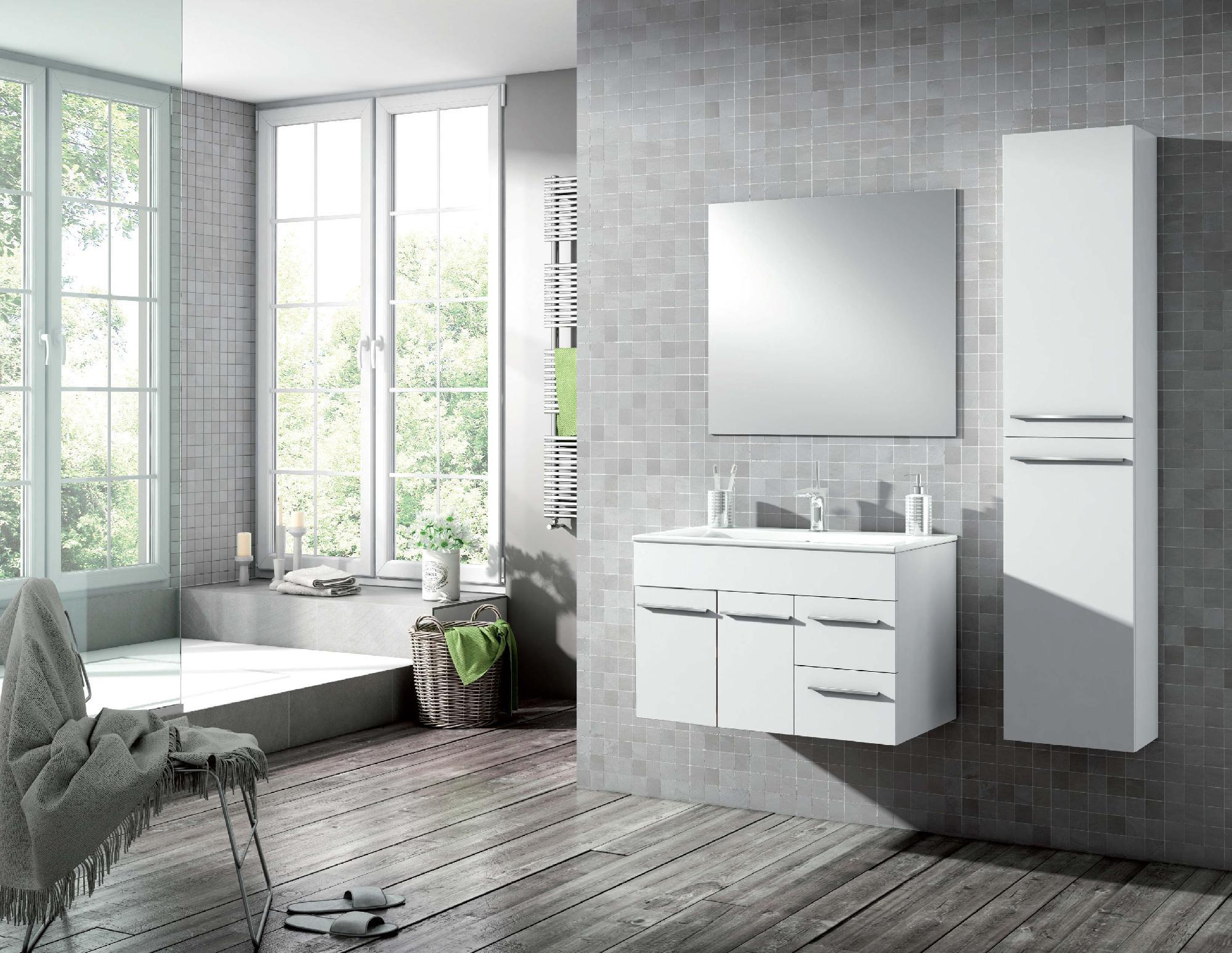 Mueble de baño colección Europa 2 puertas