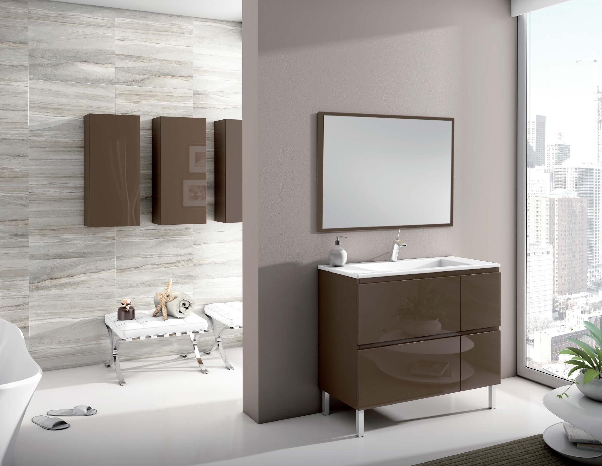 Mueble de baño colección Florencia Patas
