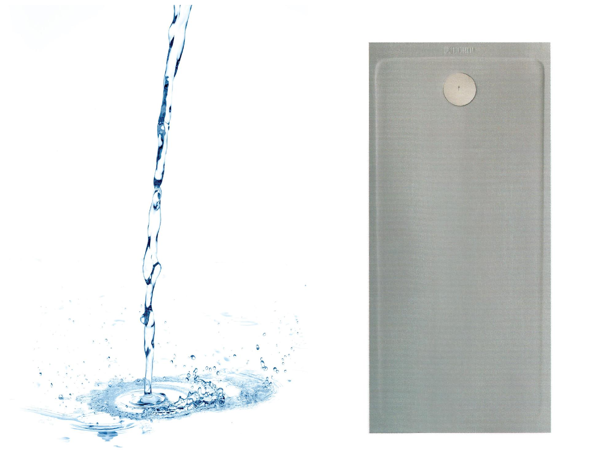 Plato de ducha modelo Pizarra