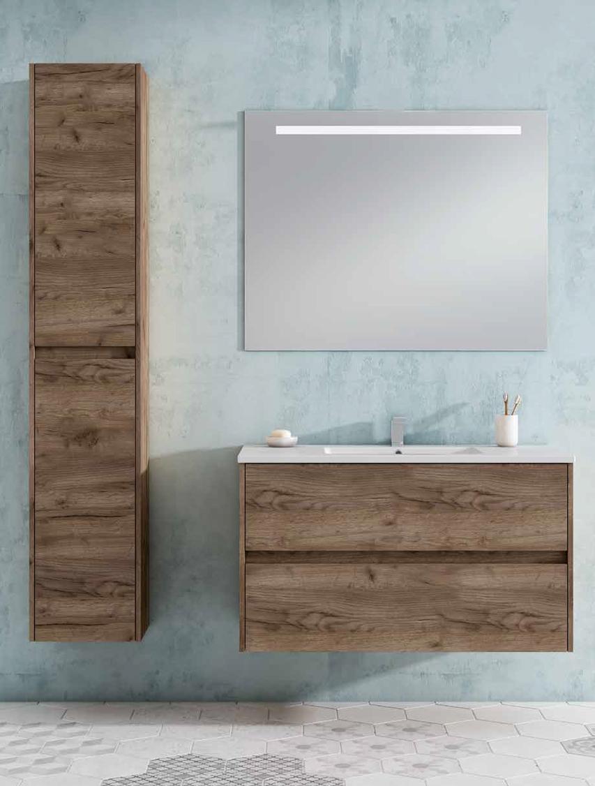 Mueble de baño colección aura