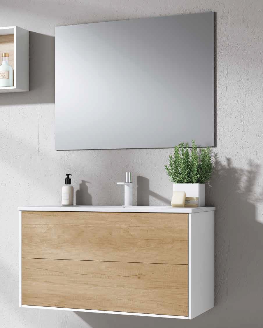 Mueble de baño colección push-pull