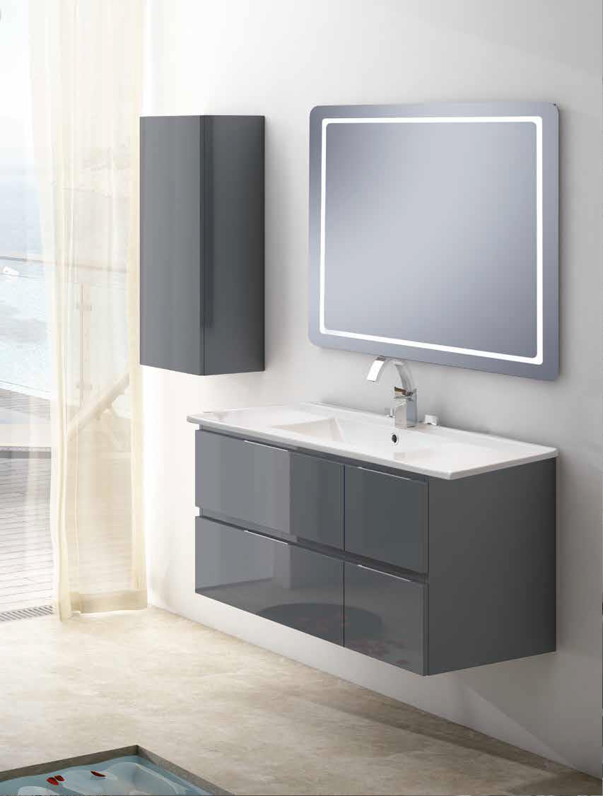 Mueble de baño colección gobi