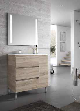 Mueble de baño colección miró