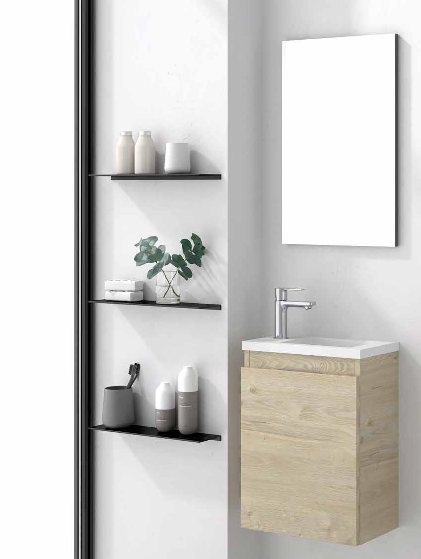 Mueble de baño colección mini
